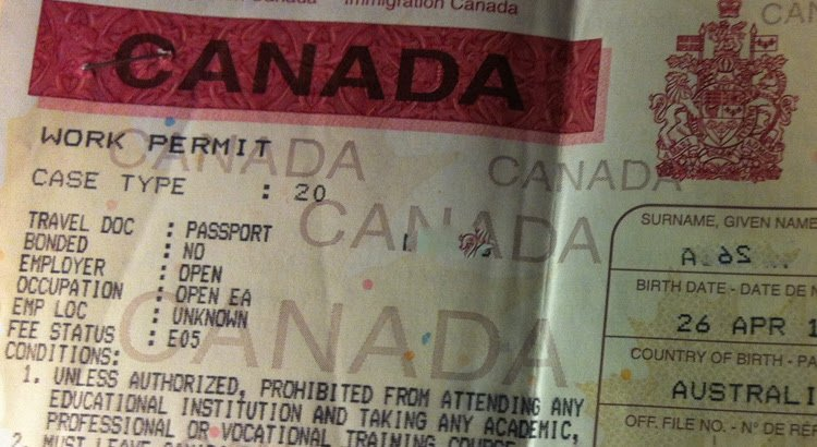 7 Important things to know about Canadian Work Permits
