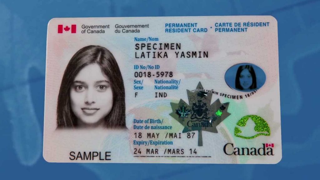 Travelling With A Canadian Permanent Resident Card