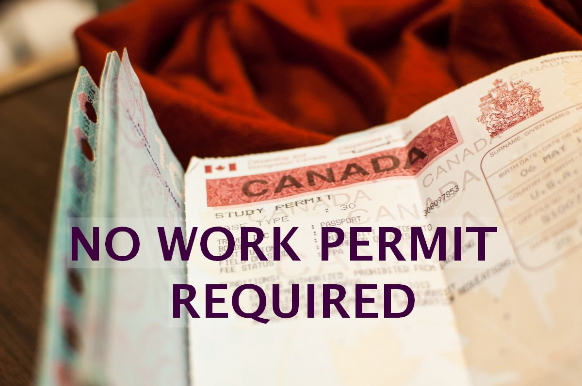 No work-permit? Canada welcomes some of you
