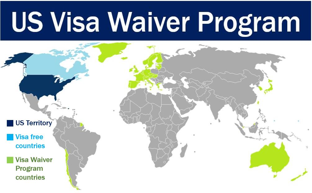 Americas Visa War With Europe Could Result In Visafree EU - Us visa map
