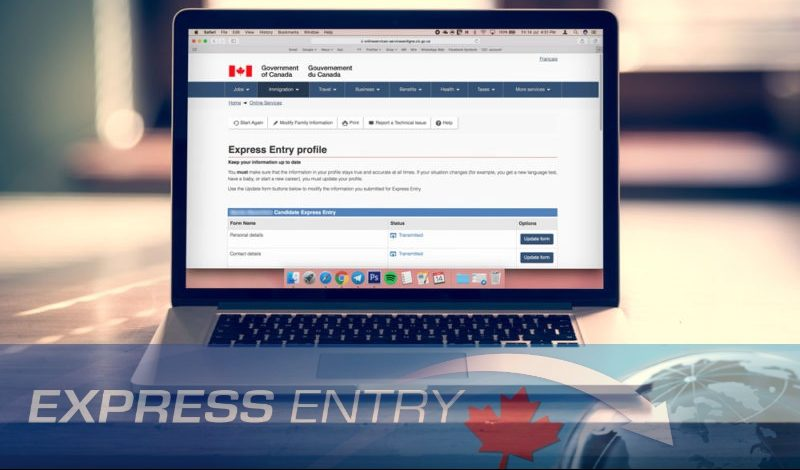 """(8) Steps to Create an Online """"Express Entry"""" Profile for Canada Immigration"""