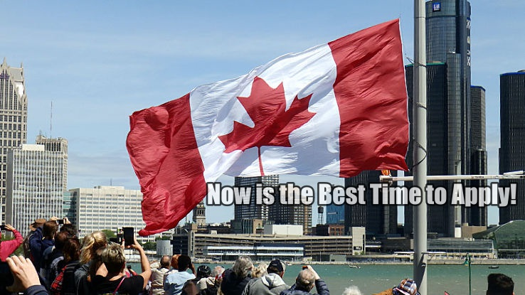 Canada welcomed 303,257 immigrants between July 2017 and July 2018 = Now is the Best Time to Apply!