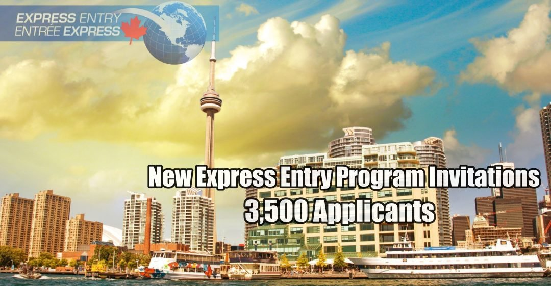 New Express Entry Program Invitations Extended to 3,500 Applicants!