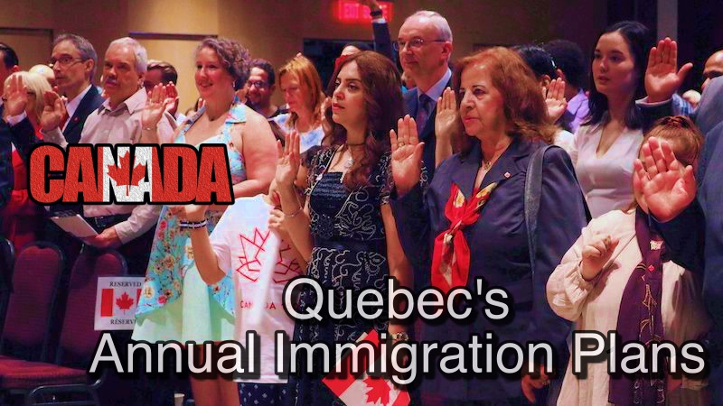 [MUST READ] Quebec's Annual Immigration Plans