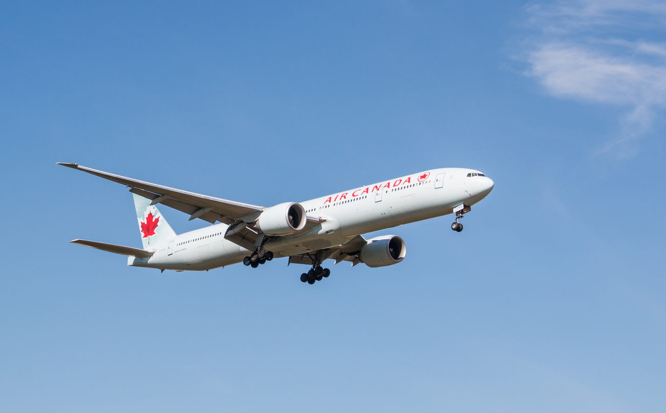Are you planning to fly to Canada soon?